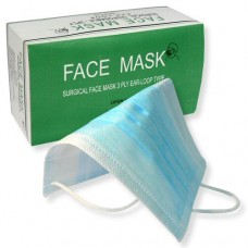 Disposable Flat Face Masks (50/Box)