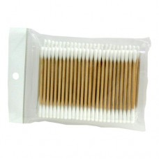 Cotton Swabs with Wooden Handle (100/Pack)
