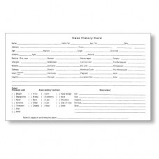 Patient Record Card (100/Pack)