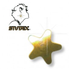 Star Earrings (Regular, Gold Plated) (12 Pairs)
