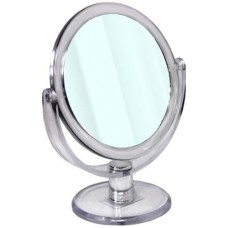 Round Mirror with Stand