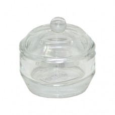 Dappen Dish with Lid Glass 10ml