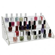 Nail Polish Counter Rack (Fits 50 Bottles)