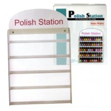 Acrylic Nail Polish Wall Display (Fits 60 Bottles)