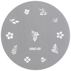 Nail Design Disc #2 (Stainless Steel)