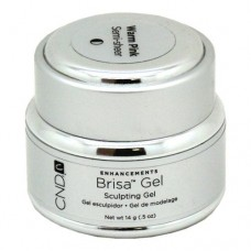 CND Brisa Warm Pink Semi Sheer Sculpting Gel 0.5oz