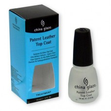 China Glaze Patent Leather Top Coat 14ml/0.5oz
