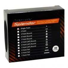 Splendor 1 Point Round Needle for Supersonic (20/Pieces)