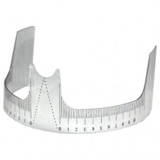 Eyebrow Shaper Ruler Plastic