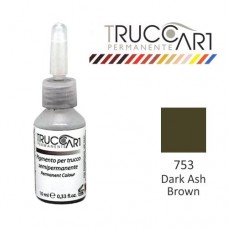 Truccart Tattoo Pigment For Eyebrow (Dark Ash Brown)
