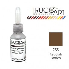 Truccart Tattoo Pigment For Eyebrow (Reddish Brown)