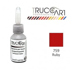 Truccart Tattoo Pigment For Lip (Ruby)