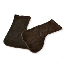 Paraffin Boots (Brown Velour)