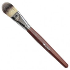 Natali Large Tapered Foundation Brush with Red Wood (Synthetic)
