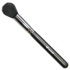 Natali Round Contour Brush (Black Goat Hair)