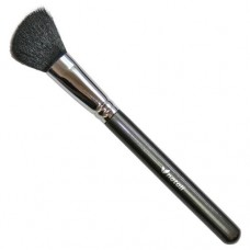 Natali Large Angled Contour Brush (Black Goat Hair)