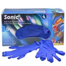 Sonic Nitrile Disposable Gloves Purple (Powder Free) Small (300/Box)
