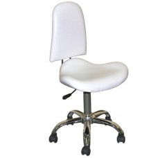 White Contoured Chair (TS3215)