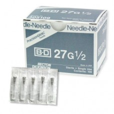 "Blood Needles 27Gx1/2"" (100/Box)"