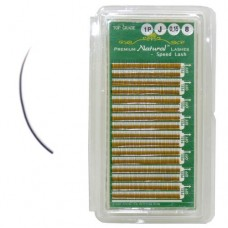 Premium J-Curl Eyelashes 0.15x8mm (16 Rows)