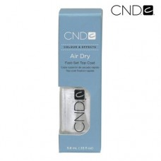 CND Air Dry Top Coat 9.8ml/0.33oz