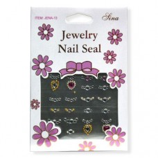 3D Nail Sticker Jewellery