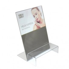 Rosa Graf Acrylic L-Display & Decorative Stand (Includes Insert Paper)