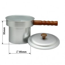 Wax Pot with Handle & Lid