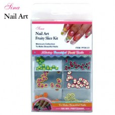 Nail Art Kit Fruity Slices #1 (144/Pack)