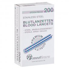 Blood Lancets Flat (200/Box)