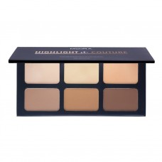 MOIRA Highlight & Couture Palette 6pcs