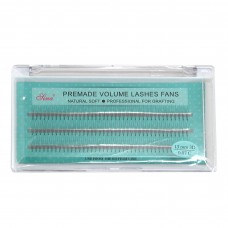 3D Eyelash C-Curl Premade Natural Soft 0.07x13mm (60/Pack)