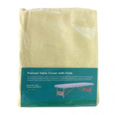 Fitted Rectangular Flannel Sheet With Breathing Hole